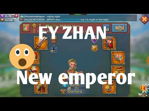 Finally FY ZHAN Becomes The Emperor Lords Mobile