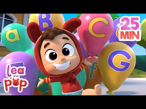 The ABC Song + More Baby Songs with Lea and Pop | Kids Songs | Songs for KIDS | Baby SONGS