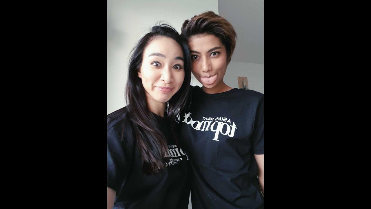 Couples asian model melissa