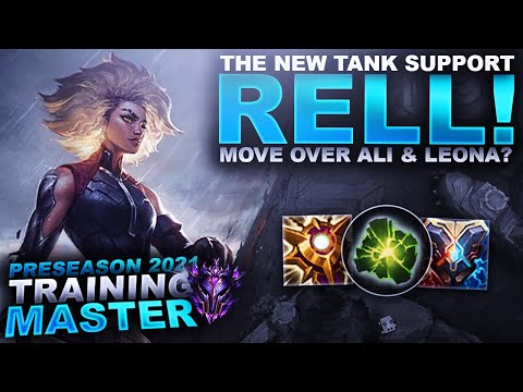 NEW TANK SUPPORT RELL! MOVE OVER ALISTAR & LEONA? | League of Legends
