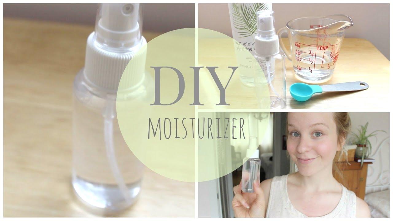 DIY: Natural Homemade Moisturizer