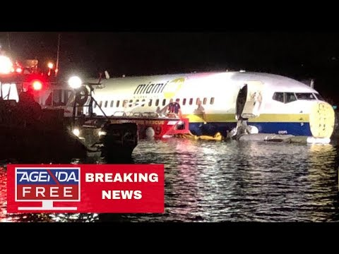 737 Plane Down in Jacksonville River - LIVE BREAKING NEWS COVERAGE