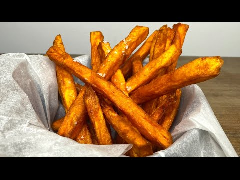 Healthier Yams Fries