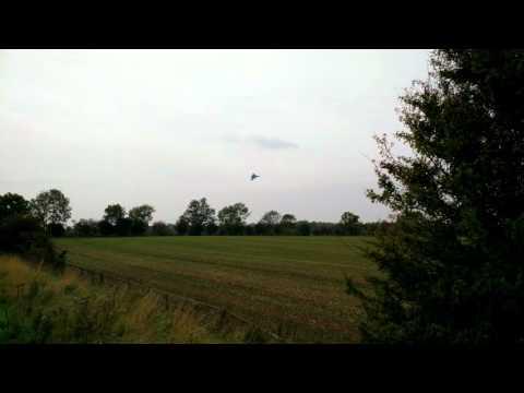 Avro Vulcan XH558 Final Flyover - Durham Tees Valley Airport