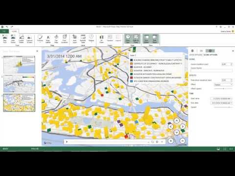 Microsoft Excel Power Maps in Power BI