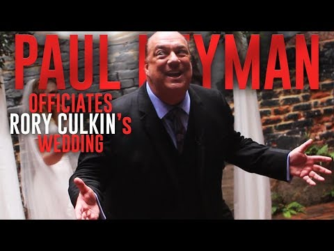 Paul Heyman Officiates Rory Culkin's Wedding