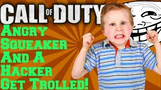 Queer Of Duty: (Trolling A Hacker And A Raging Squeaker) [HD]