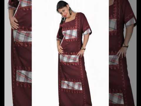 Egypt Bazar Online Shop präsentiert traumhafte Hauskleider Damen Kaftan aus Ägypten