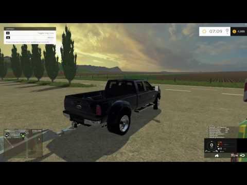 Farm Sim 2015 Modern American Farming V4.5 with a logging twist
