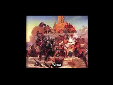 "Crazy Ol' Aztecs: History Music Video (Parody of ""Radioactive"" by Imagine Dragons)"