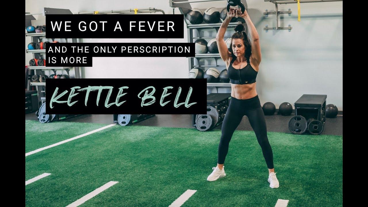 Wednesday Workout: Kettlebell Calorie Burn - YouTube