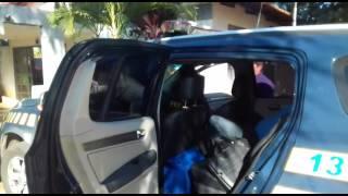 Motorista é preso após agredir policial na BR-060