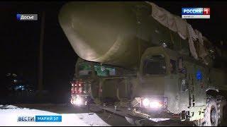 В Йошкар-Оле продолжается переоснащение ракетной дивизии мобильными комплексами «Ярс»