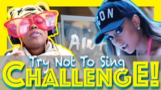 you sing you lose   this is so freaking hard   try not to sing challenge   aychristene reacts
