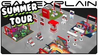 Play Upcoming Switch & 3DS Games on Nintendo's 2017 Summer of Play Tour!