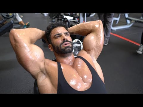 Sergi Constance Road to Olympia Vlog 12 days out