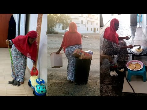 My daily routine as an Arab/Omani housemaid/shagala
