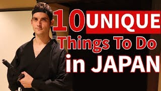 10 UNIQUE Things To Do in Japan | WATCH BEFORE YOU GO !
