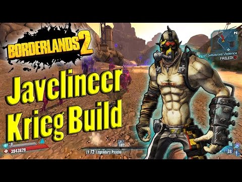 Borderlands 2 | Powerful Javelineer Krieg Build Showcase
