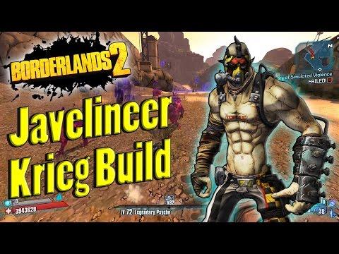 Borderlands 2 | Powerful Javelineer Krieg Build Showcase