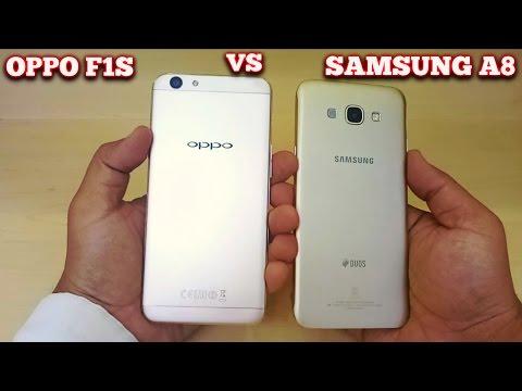 OPPO F1s vs Samsung A8