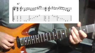 [재즈기타 연습 11] 코드 컴핑 + 아르페지오 (Am…