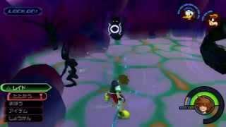 KHFMHDレアハートレスレベル1ノーダメ(Kingdom Hearts HD 1.5 ReMIX Rare Hartless level1 No Damage)