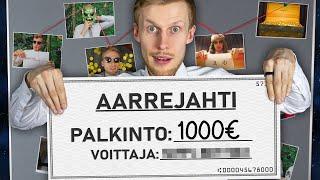 Haastoin mun katsojat Aarrejahtiin! (VOITTO 1000€)