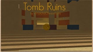 ROBLOX Super Blocky Ball: Tomb Ruins - Leaderboard Demo