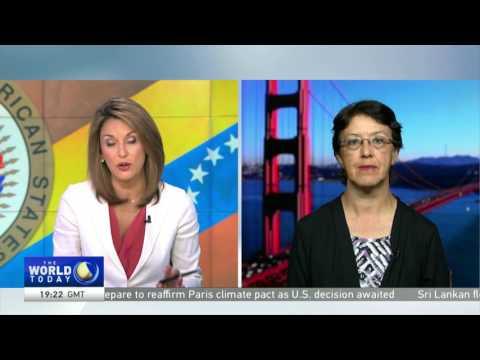 Gloria La Riva on Venezuela and the OAS