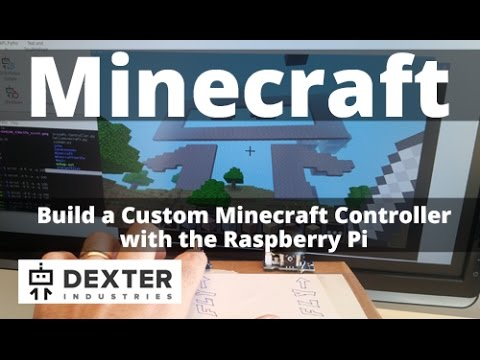 Build A Minecraft Controller With The Raspberry Pi YouTube - Raspberry minecraft spielen