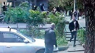 Фото Сотрудник ОСБ МВД Максим Веялко убегает от своего убийцы в Москве