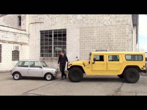 Comparison Test: Original Mini vs. Original Hummer
