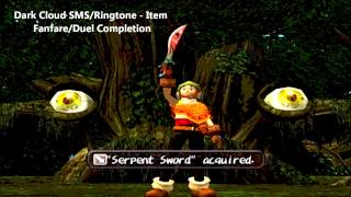 Dark Cloud SMS/Ringtone - Item Fanfare/Duel Completion (HQ/HD) FREE DOWNLOAD