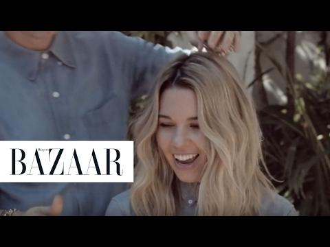 How To Do Easy Undone Waves   Harper's BAZAAR