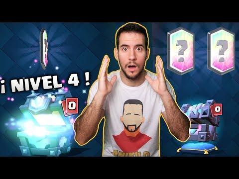 ¿-mi-sueÑo-se-cumplira-hoy?-¿-primera-legendaria-nivel-4?---clash-royale