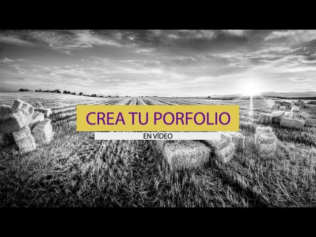 Crea tu PORFOLIO en VÍDEO