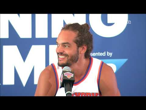Best of Joakim Noah Interview | New York Knicks Media Day | MSG Networks