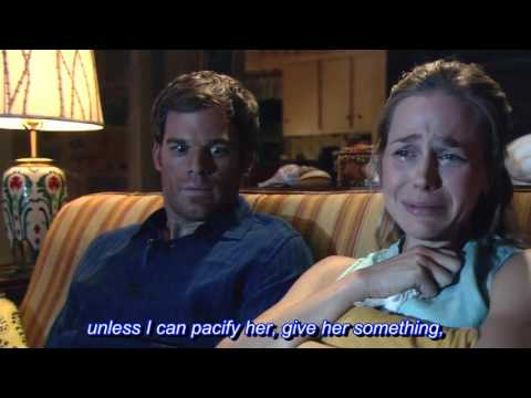 Dexter season 1 episode 5 - Funny scene with Rita