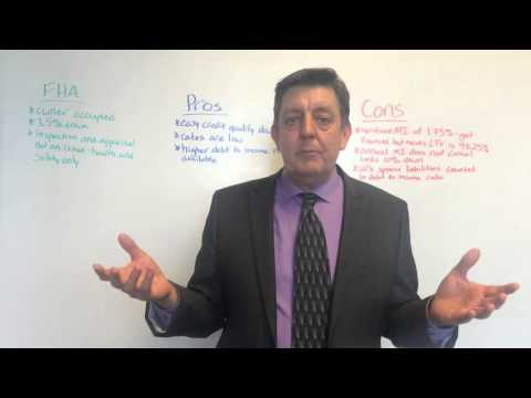 FHA Loans - Pros and Cons