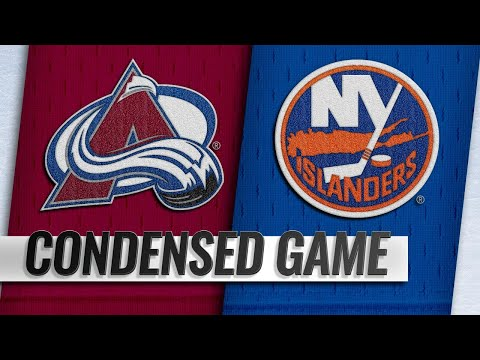 02/09/19 Condensed Game: Avalanche @ Islanders