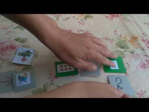 Математическая игра для детей от 4 до 7 лет своими руками.