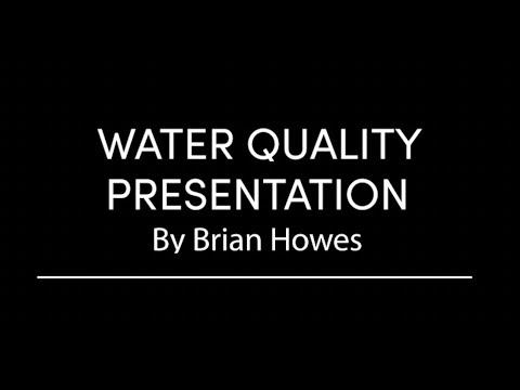 Mashpee Water Quality Presentation