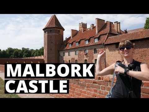 MALBORK CASTLE - POLAND | The Worlds BIGGEST Castle!!