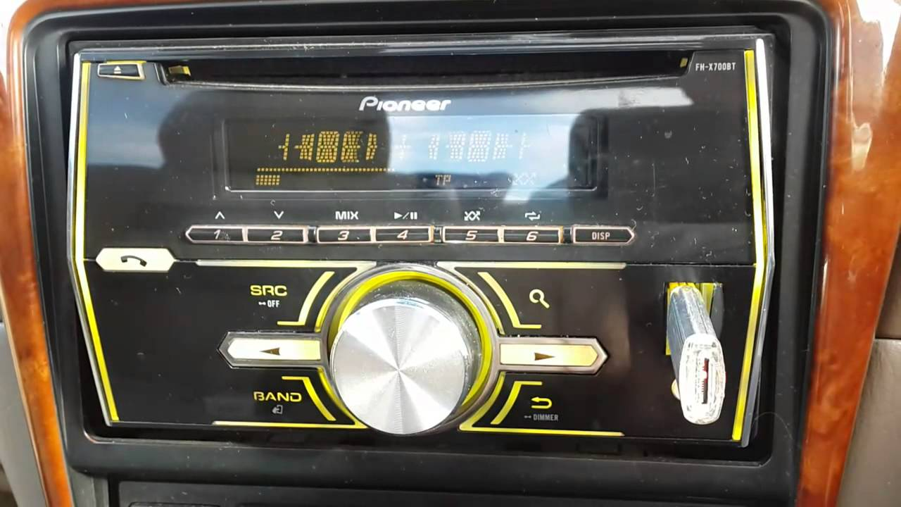 Pioneer Fh-x700bt Mixtrax
