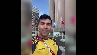 Saludo de nuestro intendente Diego Pinzón quien competirá en representación de #Colombia #Tokio2020