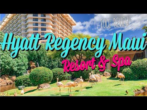 BEST RESORT IN MAUI?  HYATT REGENCY MAUI RESORT AND SPA   Full Review!