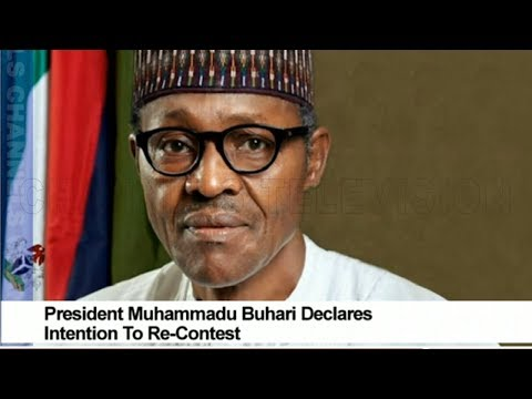 President Buhari Declares Intention To Re-contest In 2019
