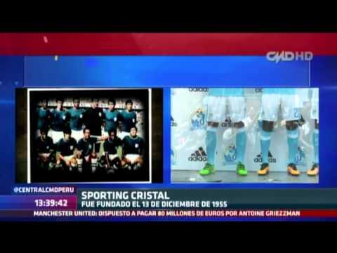 Central CMD: Historia de la camiseta de Sporting Cristal