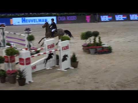 Michael G Duffy   Castelfield Rubines   winner Provincie Noord Holland Prize   Jumping Amstedam   28